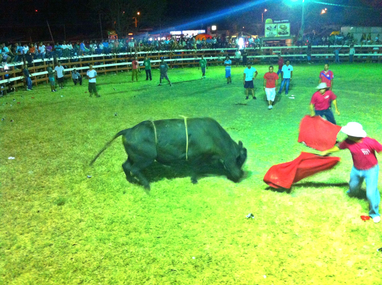 Costa Rican Rodeos:  Cowboys, Drunks and Bulls (Tamarindo Fiestas)